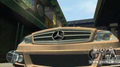 Mercedes-Benz C63 para GTA 4 visión correcta