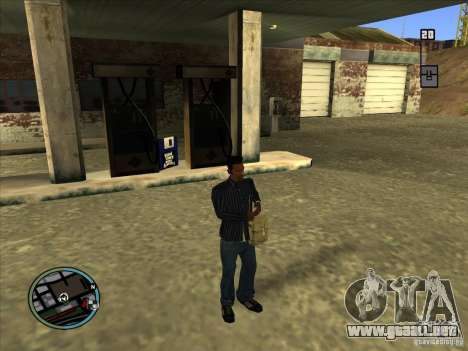 SA IV WEAPON SCROLL 2.0 para GTA San Andreas segunda pantalla