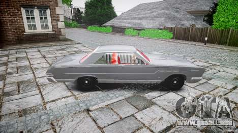 Ford Mercury Comet Caliente Sedan 1965 para GTA 4 vista interior