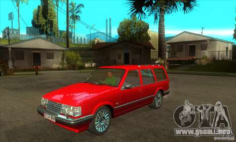 Volvo 945 Wentworth R with bodykit (1.2) para visión interna GTA San Andreas