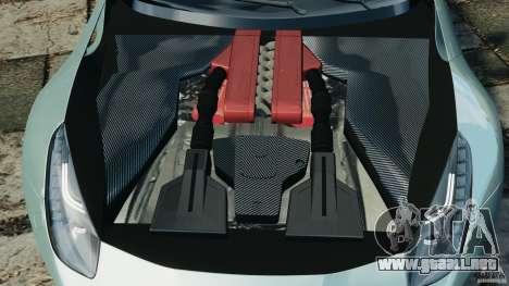Ferrari F12 Berlinetta 2013 [EPM] para GTA 4 vista lateral