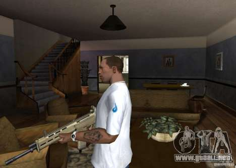 Magpul Masada para GTA San Andreas segunda pantalla