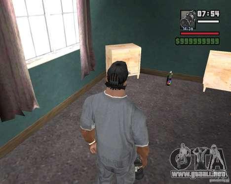 Cámara para GTA San Andreas segunda pantalla