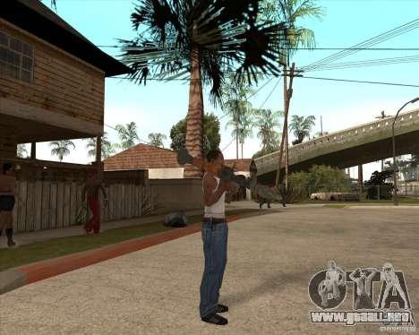 CoD:MW2 weapon pack para GTA San Andreas sexta pantalla