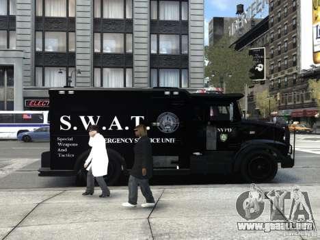 SWAT - NYPD Enforcer V1.1 para GTA 4 visión correcta