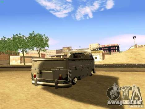 Volkswagen Type 2 Single Cab Rat para GTA San Andreas left