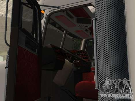 Freightliner FLD120 Classic XL Midride para GTA San Andreas vista hacia atrás
