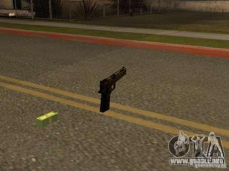 Pistola 9 mm para GTA San Andreas segunda pantalla