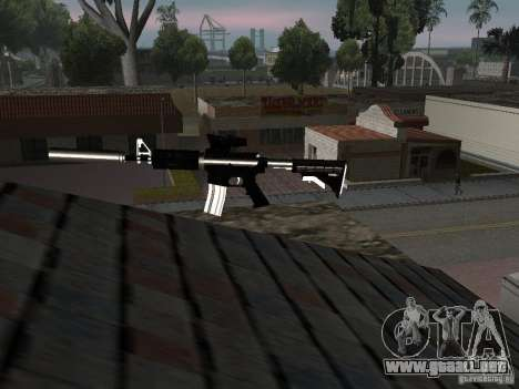Weapon Pack para GTA San Andreas séptima pantalla
