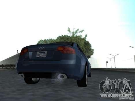 Audi RS4 para la visión correcta GTA San Andreas