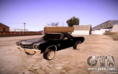 Chevrolet El Camino SS 1970 para GTA San Andreas