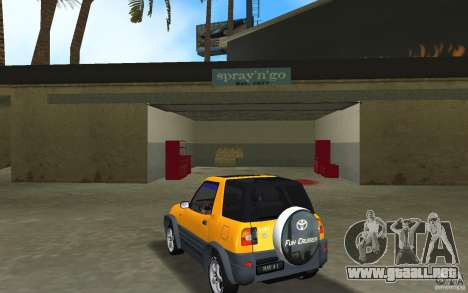 Toyota RAV4 L 1994 para GTA Vice City vista lateral izquierdo