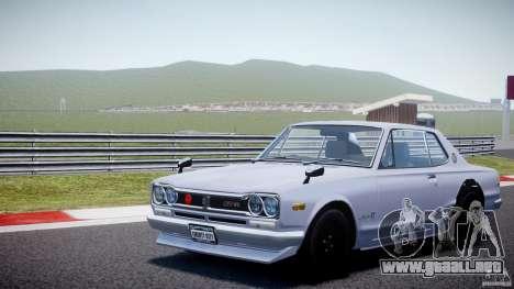 Nissan Skyline 2000 GT-R para GTA 4