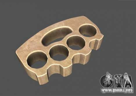 [Point Blank] Brass Knuckles para GTA San Andreas