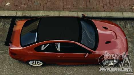 BMW M3 GTS 2010 para GTA 4 visión correcta