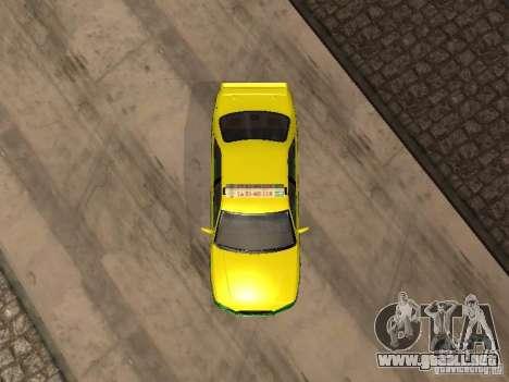 Toyota Camry Thailand Taxi para GTA San Andreas vista hacia atrás