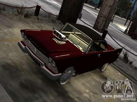 Plymouth Savoy Club Sedan 1957 Dragster Final para GTA 4