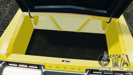 Dodge Monaco 1974 Taxi v1.0 para GTA 4 vista desde abajo
