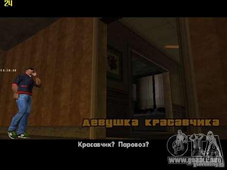 GTA IV  San andreas BETA para GTA San Andreas novena de pantalla