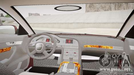 Audi A6 Allroad Quattro 2007 wheel 1 para GTA 4 vista hacia atrás