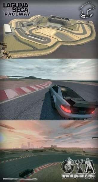Laguna Seca ( Final ) para GTA 4 tercera pantalla