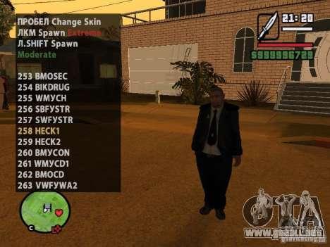 GTA IV peds to SA pack 100 peds para GTA San Andreas sexta pantalla