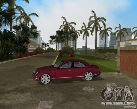 Maybach 57 para GTA Vice City vista lateral izquierdo