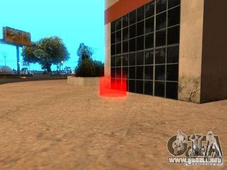 Concierto de la AK-47 v 2.5 para GTA San Andreas tercera pantalla
