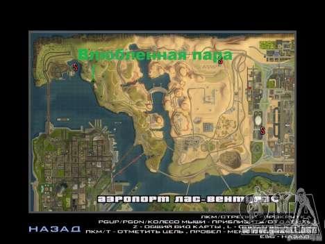 Viaje por carretera para GTA San Andreas quinta pantalla