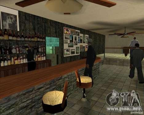 Nuevas muestras de Lil taberna para GTA San Andreas quinta pantalla