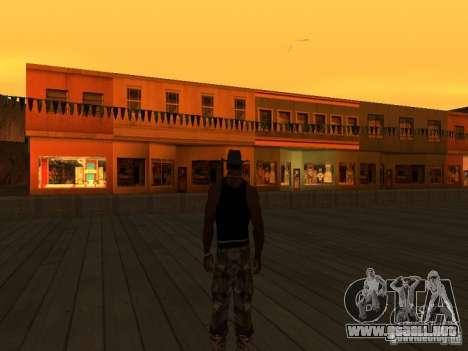 La villa de la noche beta 1 para GTA San Andreas