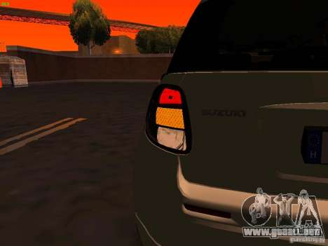 Suzuki SX-4 Hungary Police para GTA San Andreas interior