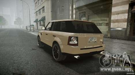 Range Rover Sport para GTA 4 vista interior