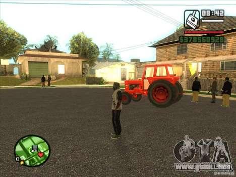 Tractor para GTA San Andreas left