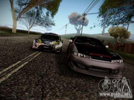 Nissan Silvia S14 Hell para vista lateral GTA San Andreas