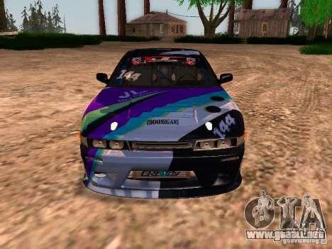 Nissan Sil80 Nate Hamilton para visión interna GTA San Andreas