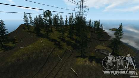 The Loggers Point para GTA 4 quinta pantalla