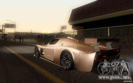 Maserati MC12 GT1 para GTA San Andreas left
