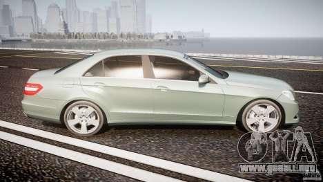 Mercedes-Benz E63 2010 AMG v.1.0 para GTA 4 vista lateral
