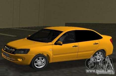 Lada Granta v2.0 para GTA Vice City left
