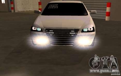VAZ Lada Priora para la visión correcta GTA San Andreas