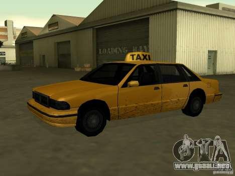 Textura realista de coche original para GTA San Andreas