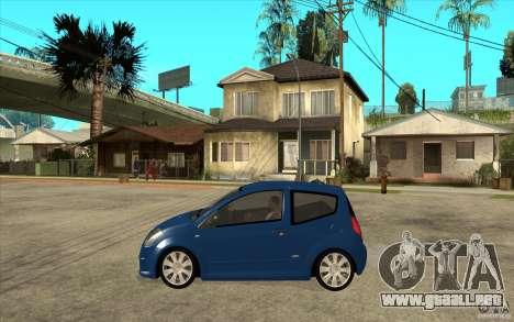 Citroen C2 - Stock para GTA San Andreas left