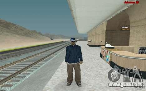 Nuevos aspectos para banda Varios Los Aztecas para GTA San Andreas segunda pantalla