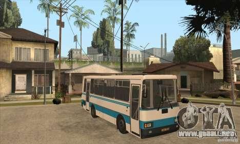 LAZ-A141 para visión interna GTA San Andreas