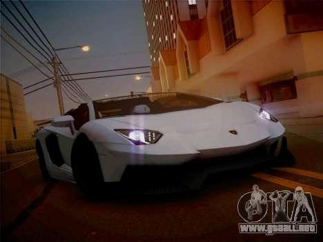 Lamborghini Aventador LP700-4 Roadstar para GTA San Andreas