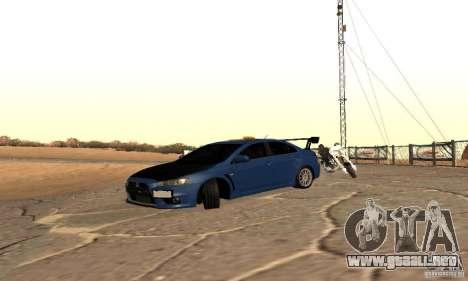 New Drift Zone para GTA San Andreas tercera pantalla