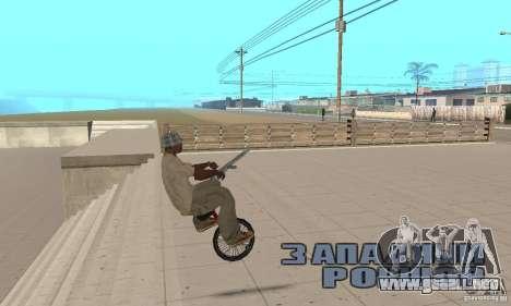 Unicycle para la visión correcta GTA San Andreas