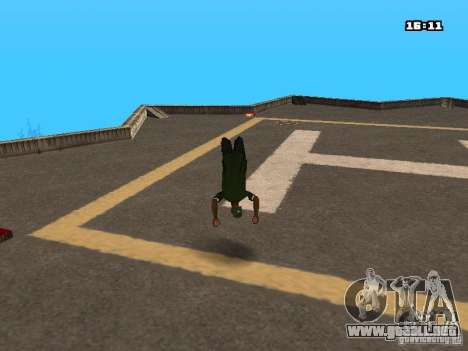 Parkour Mod para GTA San Andreas