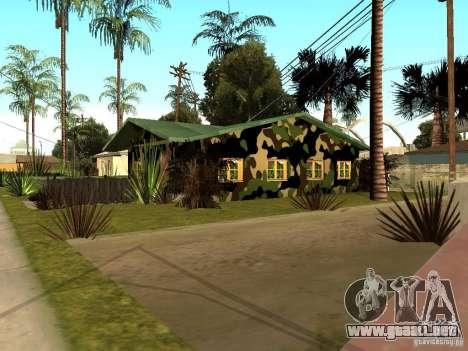 Casa nueva de Denis para GTA San Andreas segunda pantalla